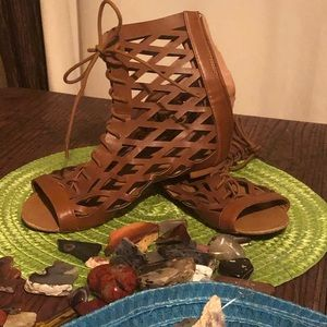 Women's Qupid Gladiator Shoes